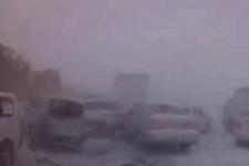 【衝撃映像】北海道警察が公開した吹雪による事故のツイートが凄すぎる!!!